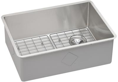"Image for Elkay Crosstown Stainless Steel 25-1/2"" x 18-1/2"" x 9"", Single Bowl Undermount Sink Kit from ELKAY"