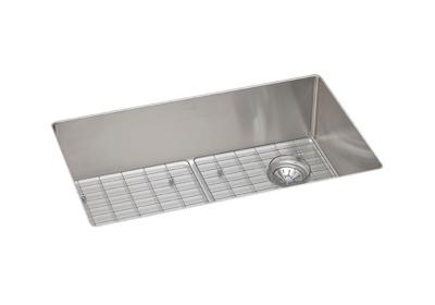 "Image for Elkay Crosstown Stainless Steel 31-1/2"" x 18-1/2"" x 9"", Single Bowl Undermount Sink Kit from ELKAY"
