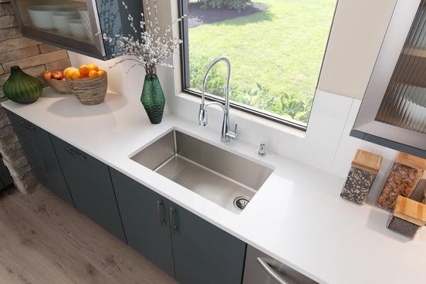Crosstown Stainless Steel Kitchen Sinks | Elkay