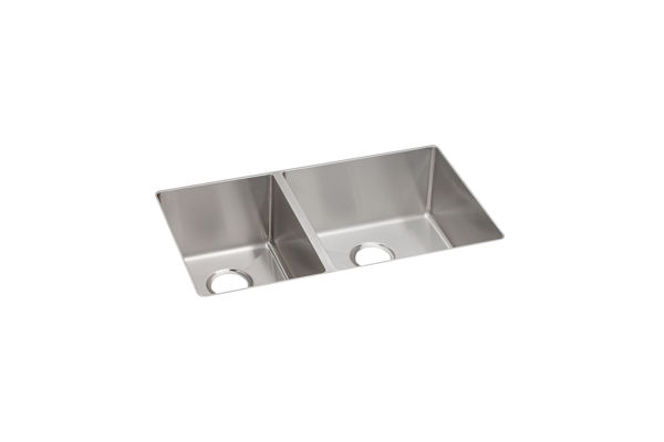 Crosstown™ Stainless Steel Double Bowl Undermount Sink