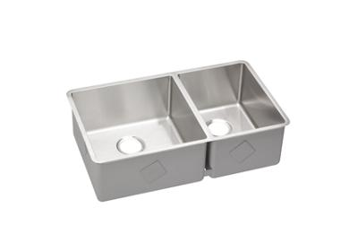 "Image for Elkay Crosstown Stainless Steel 31-1/2"" x 18-1/2"" x 9"", 60/40 Double Bowl Undermount Sink from ELKAY"