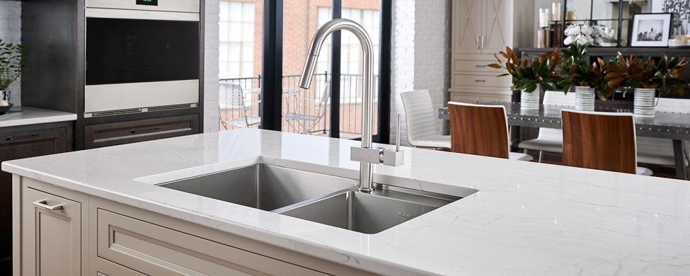 Elkay stainless steel copper fireclay and granite kitchen sinks crosstown sinks workwithnaturefo