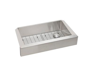 "Image for Elkay Crosstown Stainless Steel 35-7/8"" x 20-1/4"" x 9"", Single Bowl Apron Front Sink Kit from ELKAY"