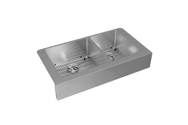 Metal Kitchen Sinks Elkay farmhouse sinks for the home elkay crosstown stainless steel 35 78 x 20 14 workwithnaturefo