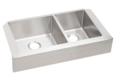 "Image for Elkay Crosstown Stainless Steel 35-7/8"" x 20-1/4"" x 9"", 60/40 Double Bowl Apron Front Sink from ELKAY"