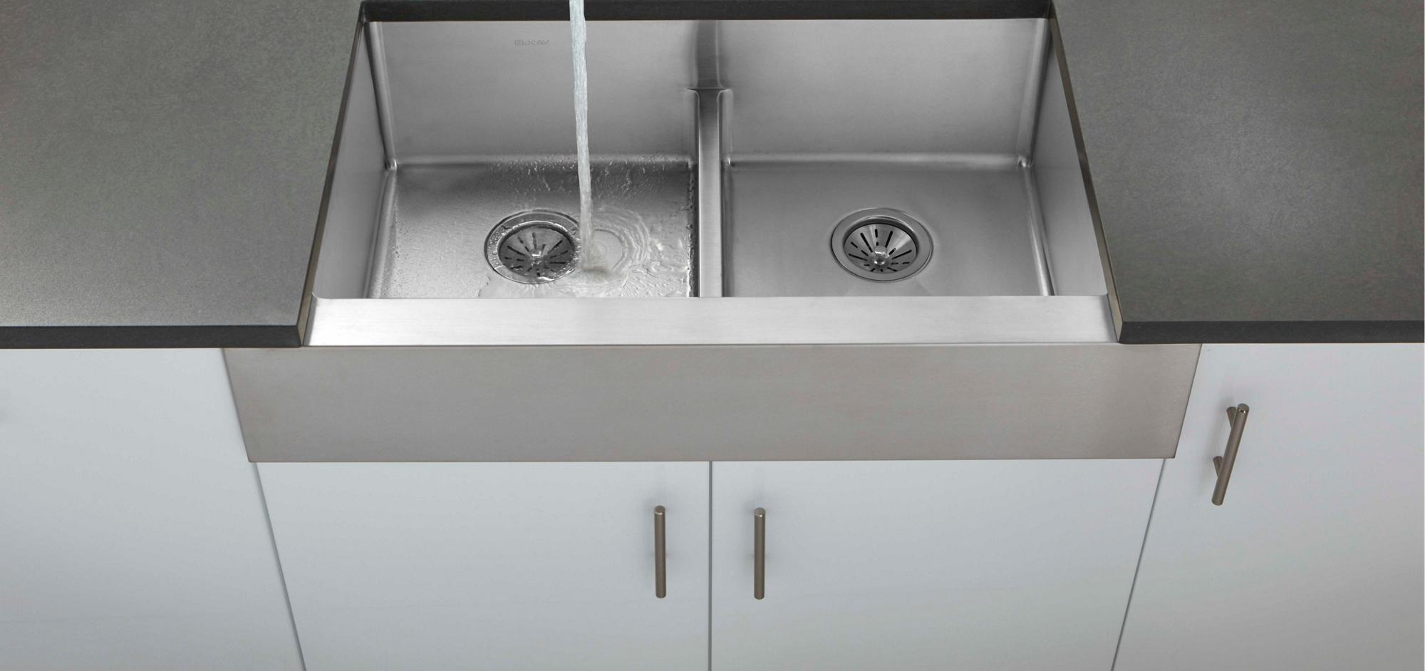 Crosstown Stainless Steel Kitchen Sinks