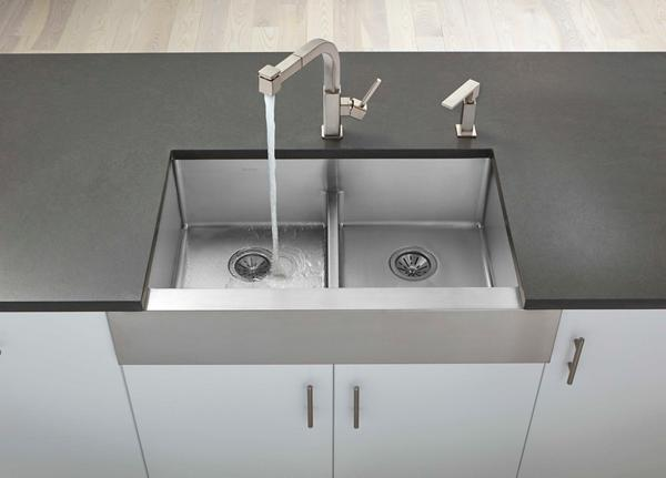 Superb Crosstown Stainless Steel Kitchen Sinks | Elkay