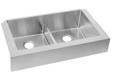"Image for Elkay Crosstown Stainless Steel 35-7/8"" x 20-1/4"" x 9"", Equal Double Bowl Farmhouse Sink with Aqua Divide from ELKAY"
