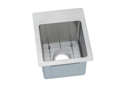 "Image for Elkay Crosstown Stainless Steel 13"" x 16"" x 9"", Single Bowl Dual Mount Bar Sink Kit from ELKAY"