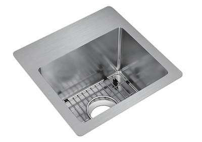"Image for Elkay Crosstown Stainless Steel 15"" x 15"" x 9"", Single Bowl Dual Mount Sink Kit from ELKAY"