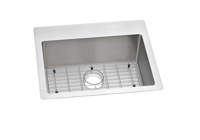 "Image for Elkay Crosstown Stainless Steel 25"" x 22"" x 9"", Single Bowl Dual Mount Sink Kit from ELKAY"