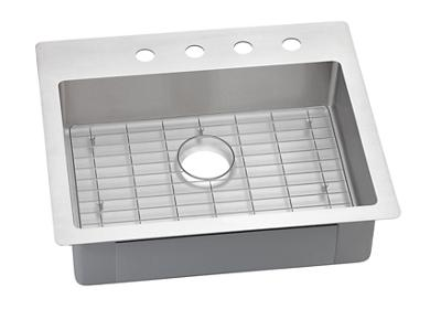 "Image for Elkay Crosstown Stainless Steel 25"" x 22"" x 6"", Single Bowl Dual Mount Sink Kit from ELKAY"