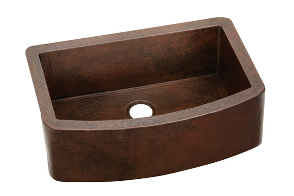 "Elkay Copper 33"" x 22"" x 10"", Single Bowl Farmhouse Sink"