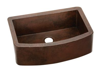 "Image for Elkay Harmony Copper 33"" x 22"" x 10"", Single Bowl Apron Front Sink from ELKAY"