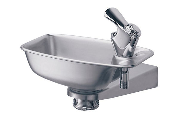 Elkay Bracket Fountain, Non Filtered Non Refrigerated Stainless