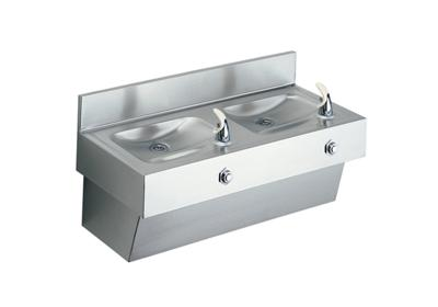 Image for Elkay Multi-Station Fountain, Non-Filtered Non-Refrigerated Stainless from ELKAY