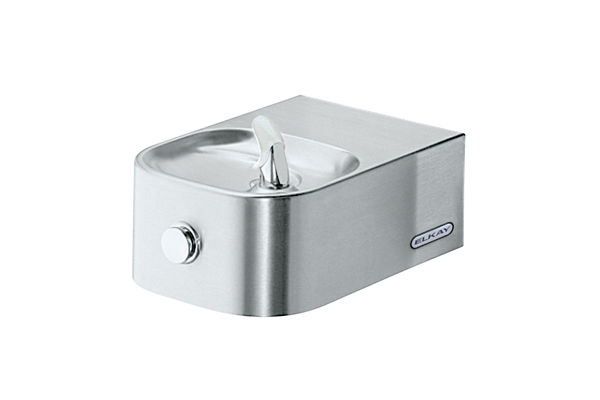 Elkay Soft Sides Single Fountain Non-Filtered Non-Refrigerated, Freeze Resistant Stainless