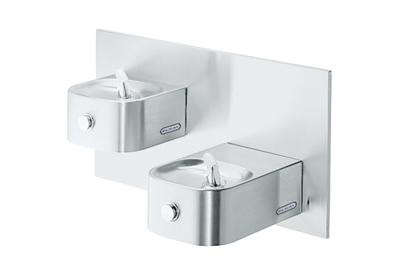 Image for Elkay Soft Sides Bi-Level Fountain Non-Filtered Non-Refrigerated, Stainless from ELKAY