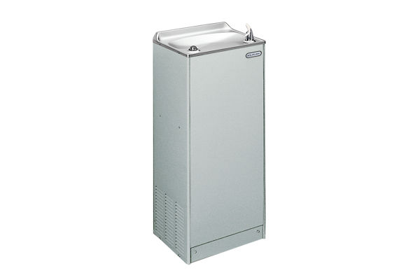 Elkay Cooler Floor Mount Non-Filtered 14 GPH Stainless 220V