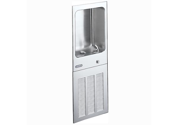 Image for Elkay Cooler Wall Mount Fully Recessed Non-Filtered 8 GPH, Stainless 220V from Elkay Latin America