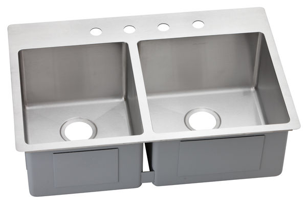 Avado™ Stainless Steel Double Bowl Dual / Universal Mount Sink