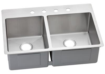 Image for Avado Stainless Steel Double Bowl Dual / Universal Mount Sink from elkay-consumer