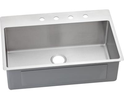 Image for Avado Stainless Steel Single Bowl Dual / Universal Mount Sink from elkay-consumer