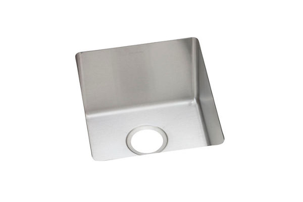 "Elkay Crosstown 16 Gauge Stainless Steel 16"" x 18-1/2"" x 10"", Single Bowl Undermount Sink"