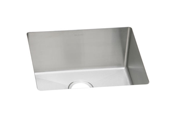 "Elkay Crosstown 16 Gauge Stainless Steel, 21-1/2"" x 18-1/2"" x 10"" Single Bowl Undermount Sink"