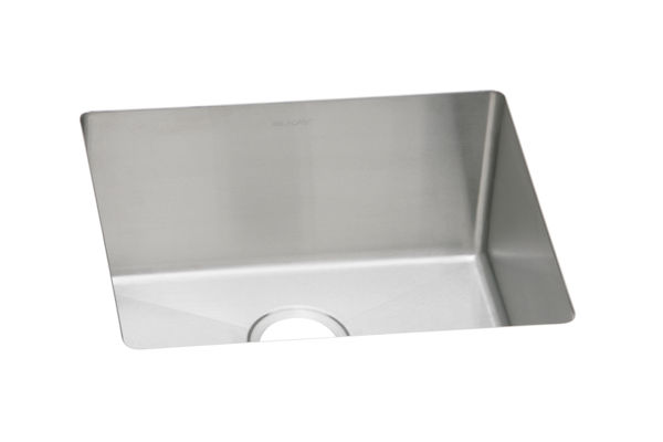 "Elkay Avado Stainless Steel 21-1/2"" x 18-1/2"" x 10"", Single Bowl Undermount Sink"