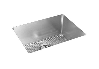 "Image for Elkay Crosstown 16 Gauge Stainless Steel, 23-1/2"" x 18-1/4"" x 10"" Single Bowl Undermount Sink Kit from ELKAY"