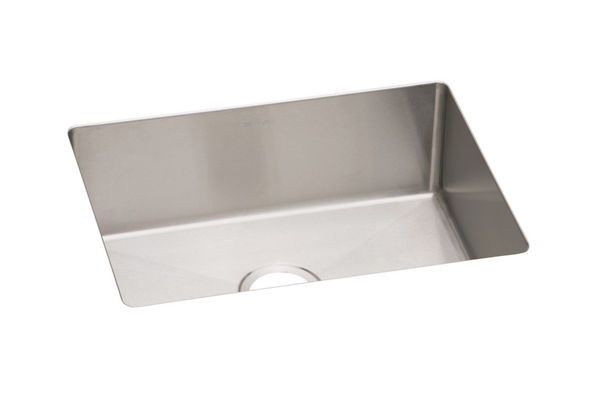 "Elkay Crosstown 16 Gauge Stainless Steel, 23-1/2"" x 18-1/4"" x 10"" Single Bowl Undermount Sink"