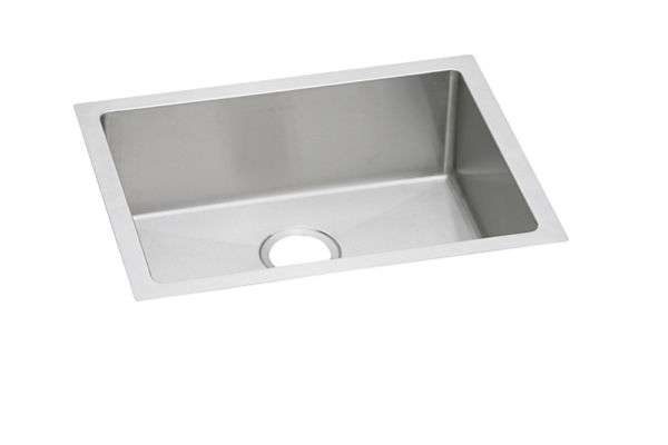 "Elkay Crosstown 16 Gauge Stainless Steel 23-1/2"" x 18-1/4"" x 8"", Single Bowl Undermount Sink"