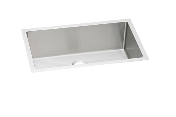 "Elkay Crosstown 16 Gauge Stainless Steel 30-1/2"" x 18-1/2"" x 8"", Single Bowl Undermount Sink"