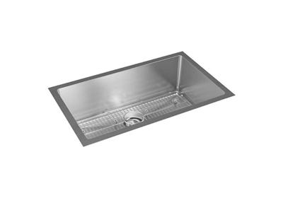"Image for Elkay Crosstown 16 Gauge Stainless Steel 32-1/2"" x 18"" x 10"", Single Bowl Undermount Sink Kit from ELKAY"