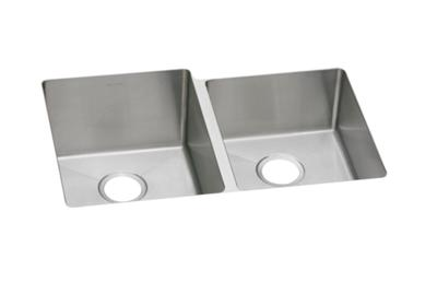 "Image for Elkay Stainless Steel 31-1/4"" x 20-1/2"" x 10"", Offset Double Bowl Undermount Sink from ELKAY"