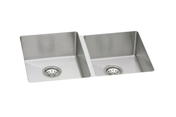 Avado™ Stainless Steel Double Bowl Undermount Sink Kit