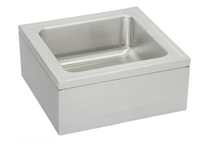 "Image for Elkay Stainless Steel 25"" x 23"" x 8"" Single Bowl, Floor Mount Service Sink Package from ELKAY"