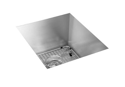 "Image for Elkay Crosstown 16 Gauge Stainless Steel 16"" x 18-1/2"" x 10"", Single Bowl Undermount Sink Kit from ELKAY"