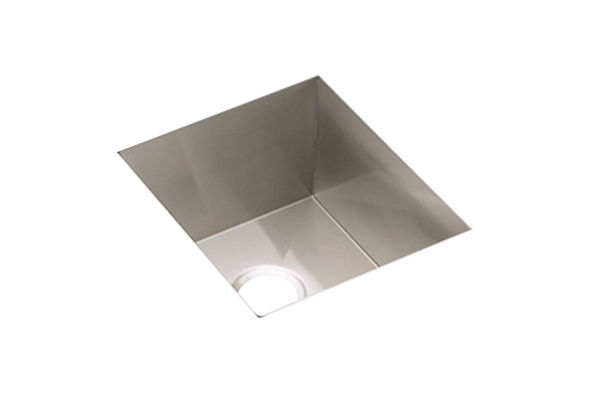 "Elkay Avado Stainless Steel 16"" x 18-1/2"" x 10"", Single Bowl Undermount Sink Kit"