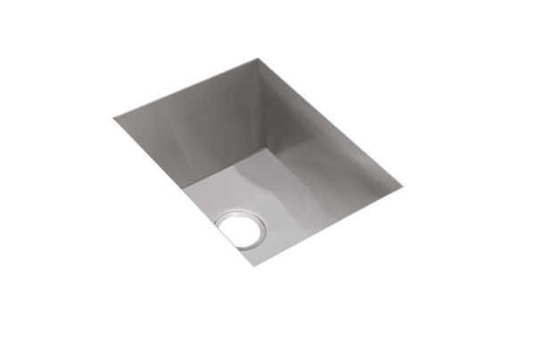 "Elkay Avado Stainless Steel 16-1/2"" x 20-1/2"" x 10"", Single Bowl Undermount Sink Kit"