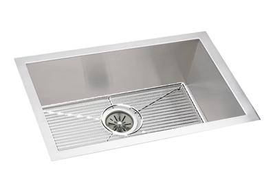 "Image for Elkay Crosstown 16 Gauge Stainless Steel 23-1/2"" x 18-1/4"" x 10"", Single Bowl Undermount Sink Kit from ELKAY"