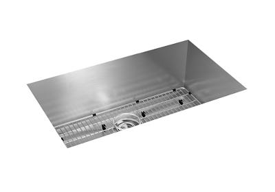 "Image for Elkay Crosstown 16 Gauge Stainless Steel, 30-1/2"" x 18-1/2"" x 10"" Single Bowl Undermount Sink Kit from ELKAY"