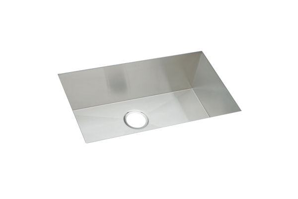 "Elkay Avado Stainless Steel 30-1/2"" x 18-1/2"" x 10"", Single Bowl Undermount Sink Kit"
