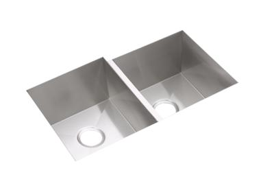 "Image for Elkay Avado Stainless Steel 31-1/4"" x 20-1/2"" x 10"", Double Bowl Undermount Sink Kit from ELKAY"