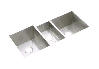 "Image for Elkay Avado Stainless Steel 40"" x 20-1/2"" x 10"", Triple Bowl Undermount Sink Kit from ELKAY"