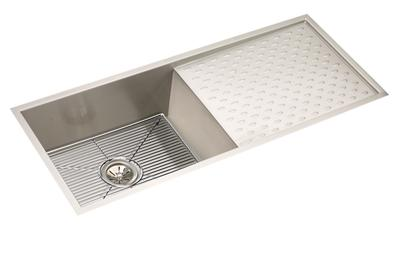 "Image for Elkay Crosstown 16 Gauge Stainless Steel, 43-1/2"" x 18-1/4"" x 10"" Single Bowl Undermount Sink Kit from ELKAY"