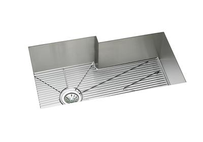 "Image for Elkay Crosstown 16 Gauge Stainless Steel 34-1/2"" x 20-1/2"" x 10"", Single Bowl Undermount Sink Kit from ELKAY"