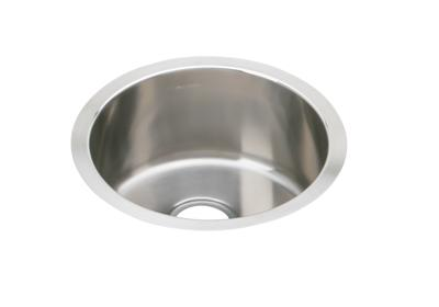 "Image for Elkay Stainless Steel 16-3/8"" x 16-3/8"" x 7"", Single Bowl Undermount Bar Sink from ELKAY"