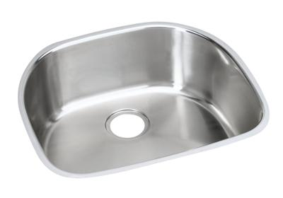 "Image for Elkay Stainless Steel 23-9/16"" x 21-1/8"" x 10"", Single Bowl Undermount Sink from ELKAY"